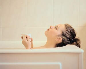 尋常性乾癬の温泉入浴